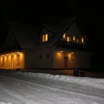 Penzion U Barana v noci